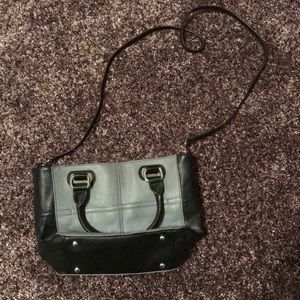 Tignanello cross body leather purse